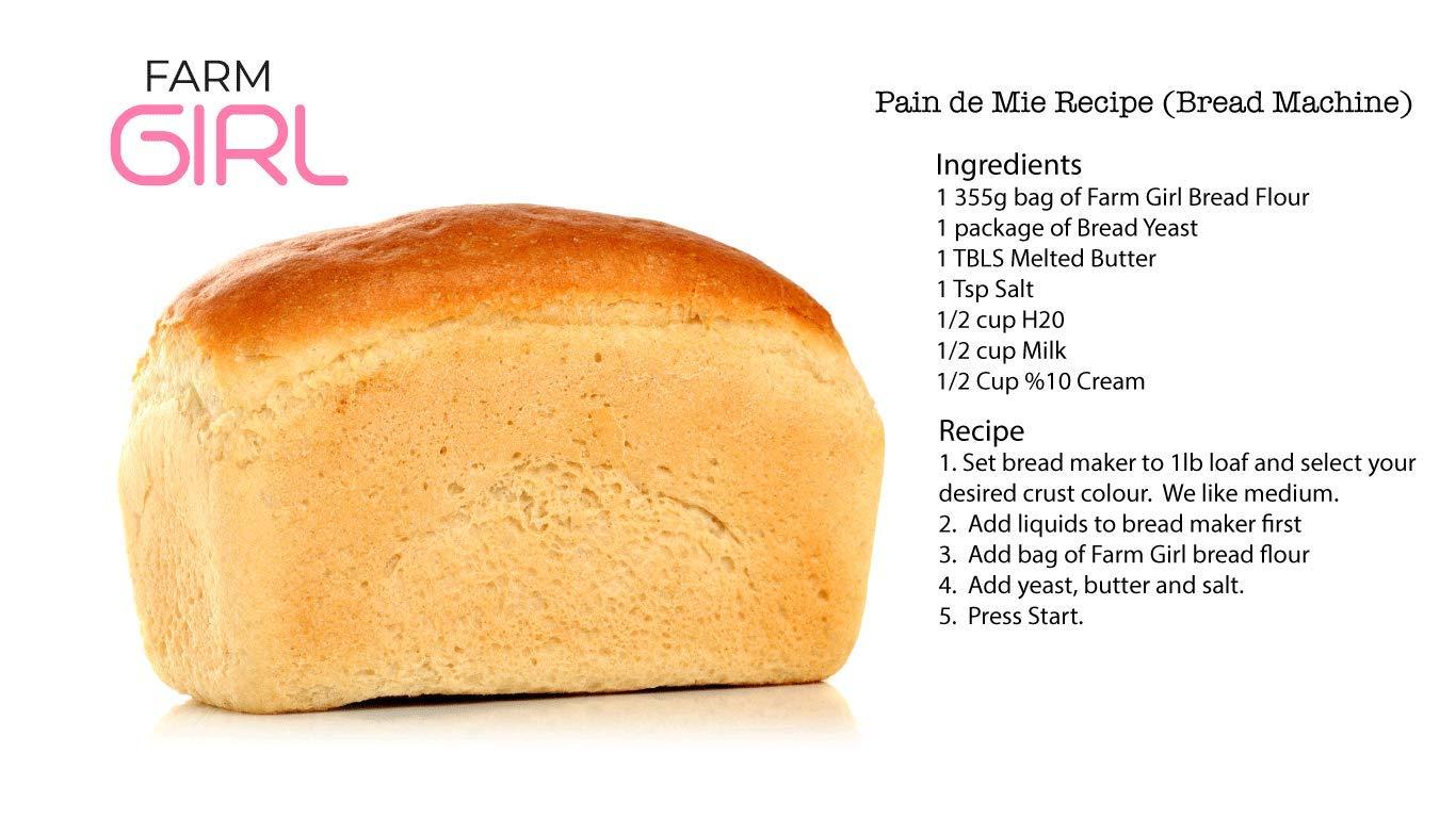 Mezcla de pan de granja baja en carbohidratos - Keto mezcla ...