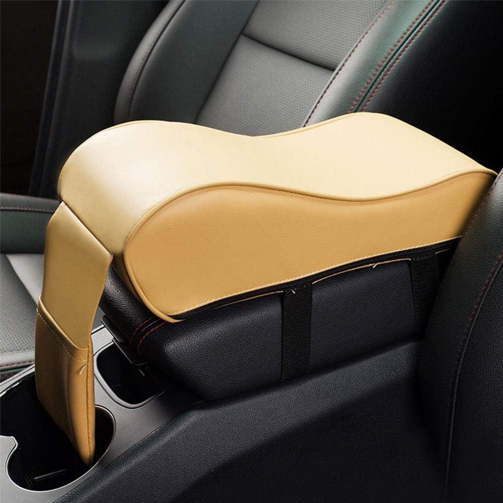 Famyfamy Car Armrest Pad,Universal PU Leather Car Handrail Box Pad/ï/¼/ŒCar Armrest Center Consoles Cushion