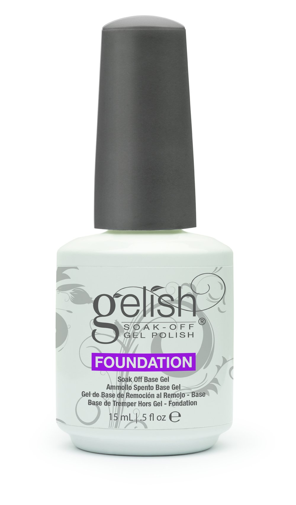 NEW Gelish Full Size Gel Nail Polish Basix Care Kit (15ml) + Remover & Cleanser by Gelish (Image #2)