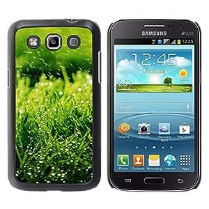 TopCaseStore / la caja del caucho duro de la cubierta de protección de la piel - Nature Green Grass - Samsung Galaxy Win I8550 I8552 Grand Quattro