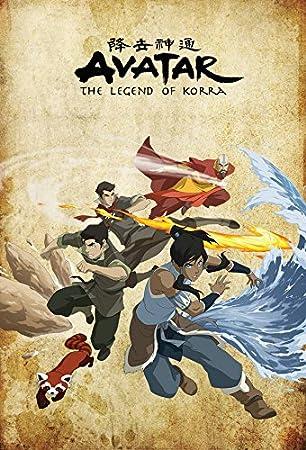 P189 Art Decor Avatar The Legend Of Korra Anime Hot Silk Poster