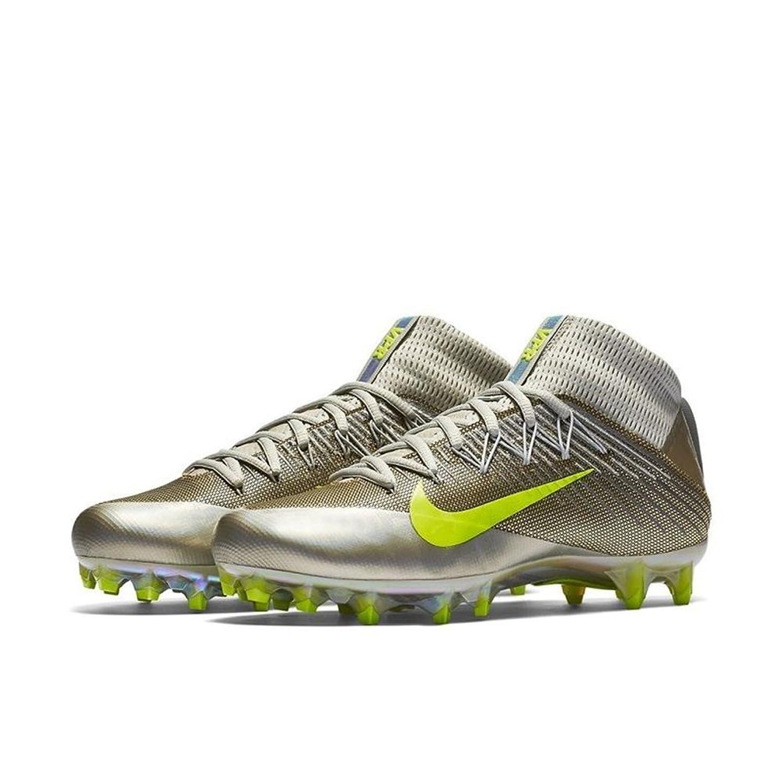Nike Men's Vapor Untouchable 2 Football Cleats Grey Volt