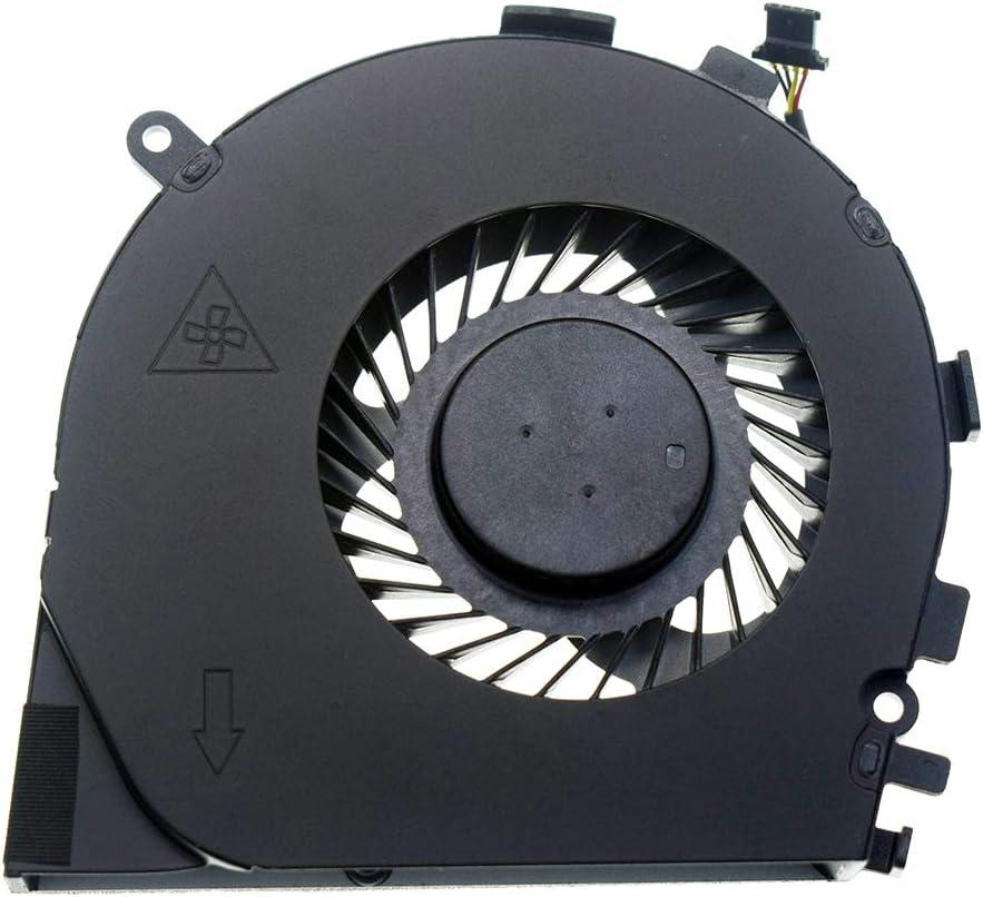 DREZUR CPU Cooling Fan Compatible for HP Envy M7-N 17-N Series M7-N101DX M7-N109DX M7-N014DX 17-N005TX 17T-N000 17T-N100 Series Laptop 813798-001