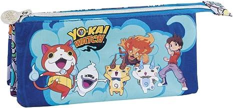 Portatodo 3 Bolsillos Yo-Kai Watch azul: Amazon.es: Instrumentos musicales