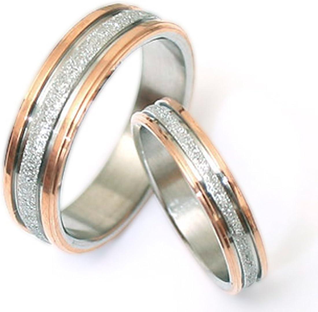 11 13 Women Ring Size Gemini His /& Hers Groom /& Bridal Matching Titanium Anniversary Wedding Band Ring Set 6mm/&4mm Men Ring Size