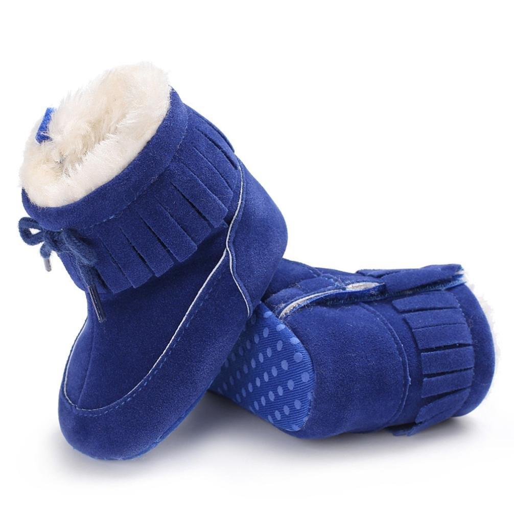 FNKDOR Baby Schuhe Kinder M/ädchen Jungen Baumwolle Stiefel Warm Schneestiefel