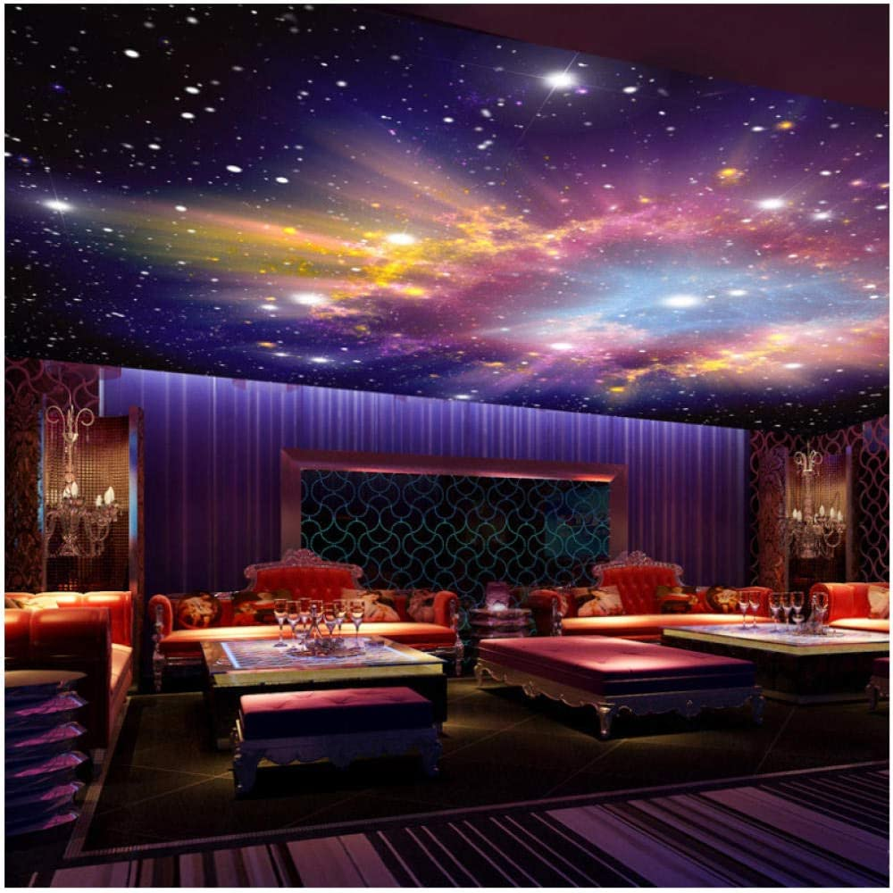 FSLUCKY Murals 3D Star Nebula Night Sky Wall Painting