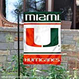 College Flags and Banners Co. Miami Hurricanes Garden Flag