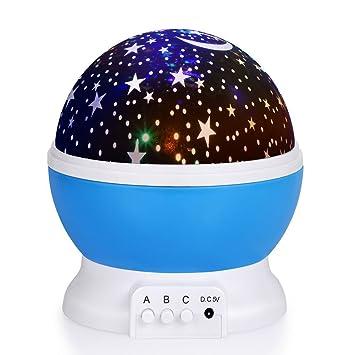 Baby Nachtlicht Projektor Sternenhimmel,WAWJ Dekoratives Licht für ...