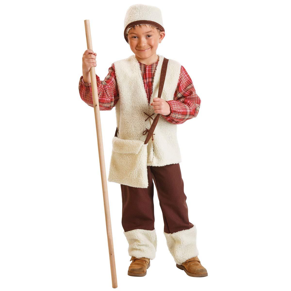 Disfraz de Pastor Niño (2-3 Años): Amazon.es: Juguetes y juegos