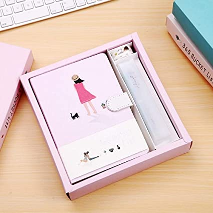 Amazon.com : BIYFLnotebook 2019 Stationery Kawaii Cute ...