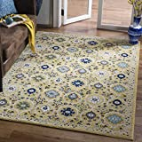 Safavieh Evoke Collection EVK210B Contemporary Gold and Ivory Area Rug (3′ x 5′) Review