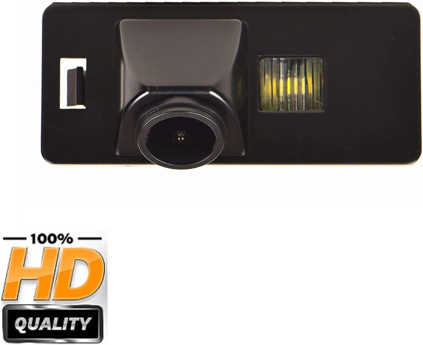 HD 1280x720p Reversing Camera Rear View Backup Camera Waterproof Night Vision for Audi A3 8P 8V S3 A4 B6 B7 B8 S4 A6 C6 S6 RS6 A8 RS4 TT 8N Q3 Q5 Q7 A= Screw Hole Style