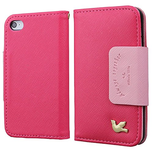 iphone 4 case wallet red - 7