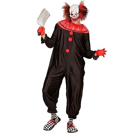 NET TOYS Disfraz Payaso Asesino - XL (ES 54) | Traje Clown ...