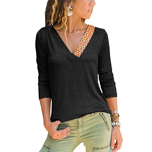 1f8a4ee41c2 EverChic Women s Knit V-Neck Sweater – Ultra-Soft Regular Fit Pullover Long  Sleeves