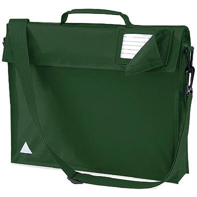 JUNIOR BOOK BAG SCHOOL BAG WITH STRAP - 5 COLOURS: Amazon.co.uk ...