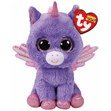 b9c3b698711 Amazon.com  Athena the Unicorn Beanie Boo - Small - Claire s ...