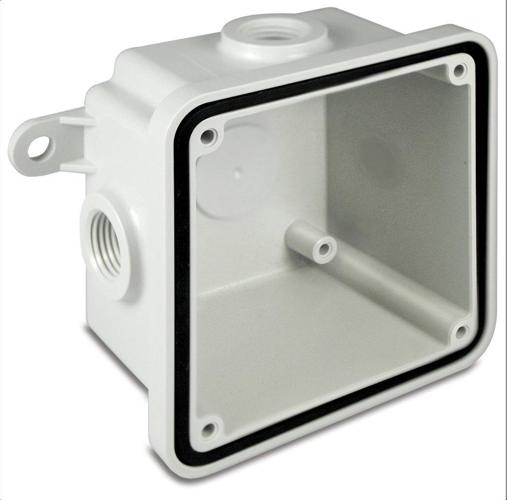 Federal Signal WB-NM Non-Metallic Weatherproof Back Box Housing Accessory, Gray