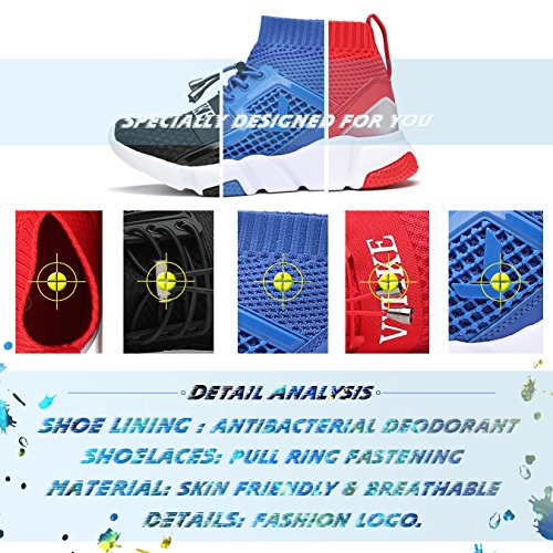 Pictures of Kids Shoes Boys Girls Sneakers Flyknit Sock 6