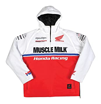 Troy Lee Designs Honda Team chaqueta deportiva para hombre - COLOR BLANCO/3 x -grande, color negro: Amazon.es: Coche y moto