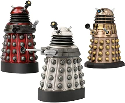 Doctor Who 11th Doctor ASYLUM OF THE DALEKS COLLECTOR SET