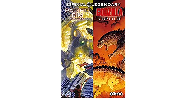 ESTUCHE LEGENDARY (PACIFIC RIM Y GODZILLA): 9788416486915: Amazon.com: Books