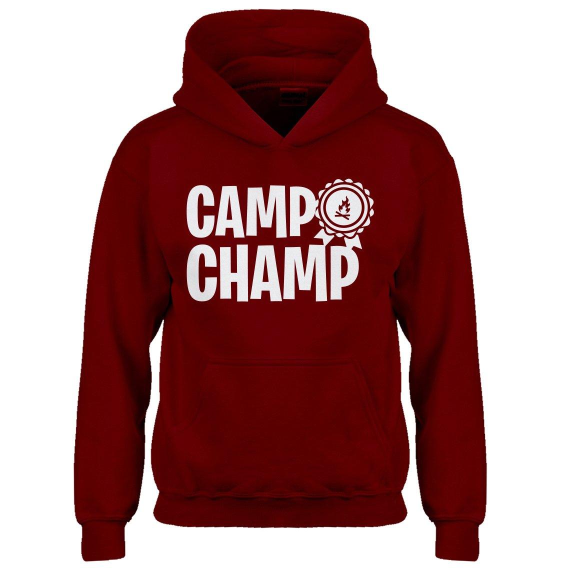 Kids Hoodie Camp Champ Medium Red Hoodie