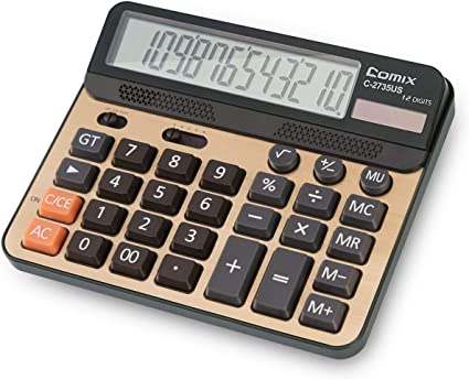 School Display Universal Pocket Office Black White Electronic Digit Calculator
