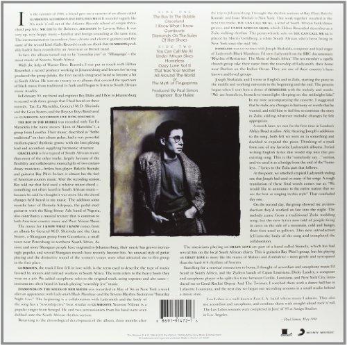 Buy sony graceland:25th anniversary edition