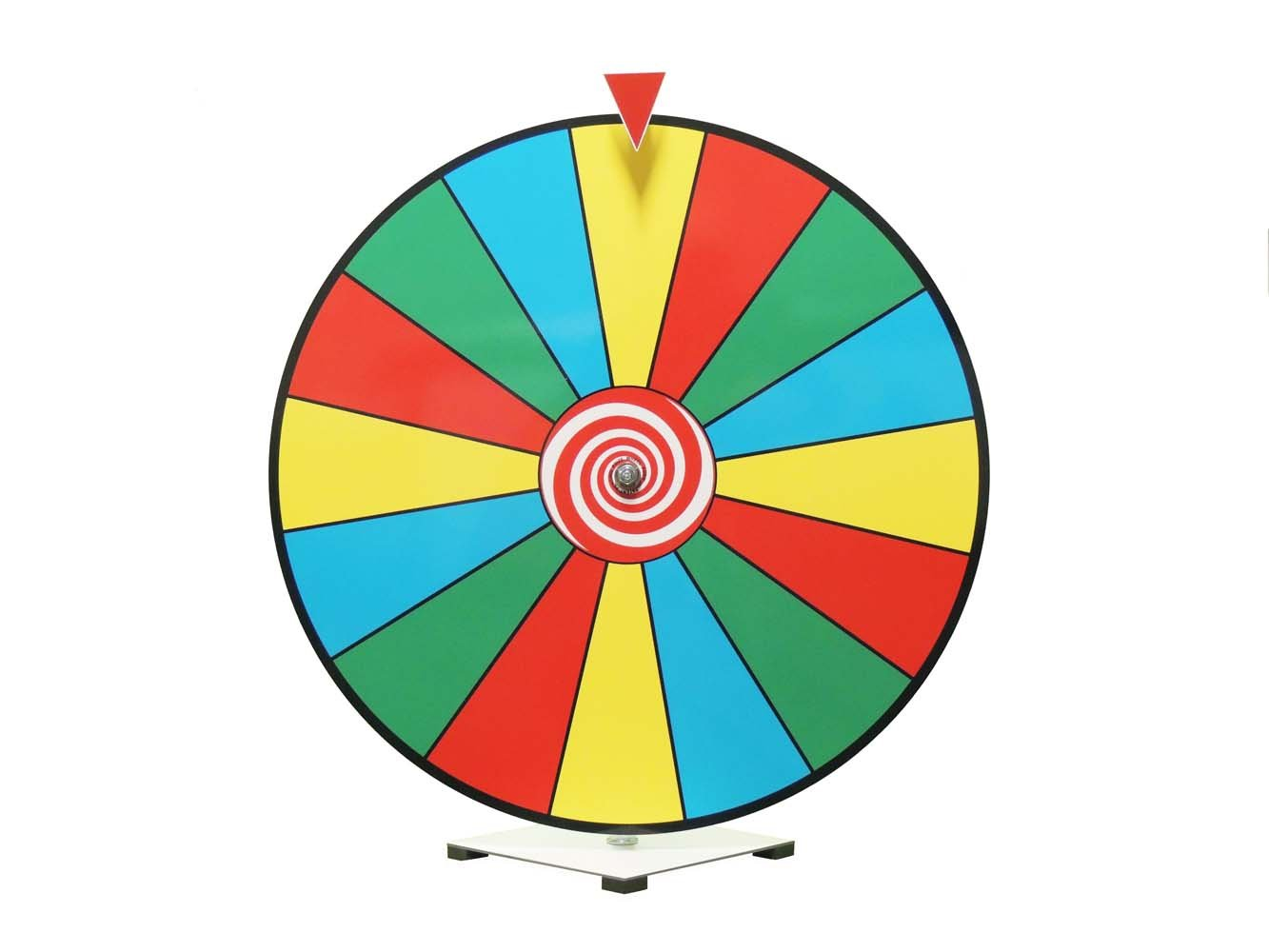 24 Inch Dry Erase Spinning Prize Wheel