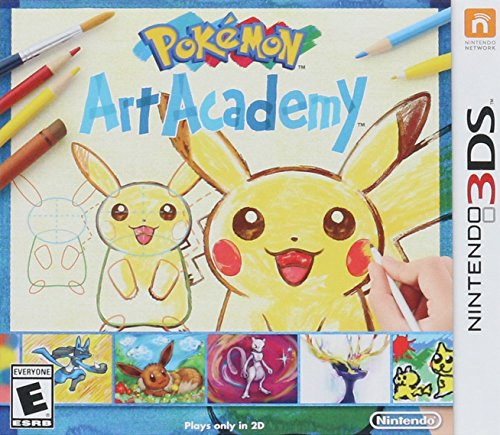 Pokemon Art Academy - 3DS (Academy The System)