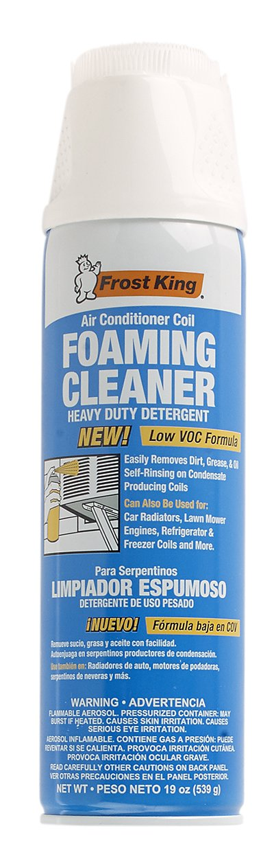 A/C SAFE AC-921 Air Conditioner Coil Foam Cleaner, Cleans Evaporator Condenser