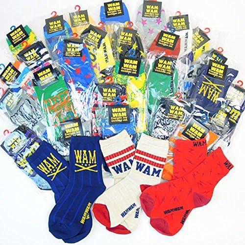 WAMWAM(ワムワム)おまかせ3Pソックスセット(S-LL) socks60617(通常3枚¥1080のところ今だけ5枚で¥1080)