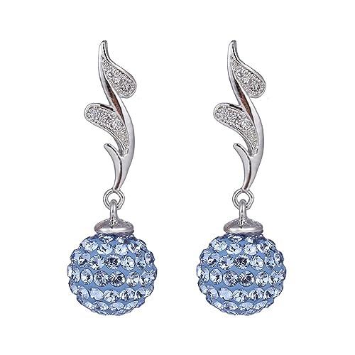ff78f493e Amazon.com: Xuping Christmas Gifts Luxury Lucky Ball Style Platinum ...