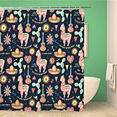 "Shower Curtains Features: Size: 72"" W Ã- 78"" H Package Include: 1* shower curtain (Includes 12 hooks) Material: Waterproof polyester Pattern: Unique HD digital print, vivid and vibrant Soft and comfortable handing feeling Designed to fit stan..."