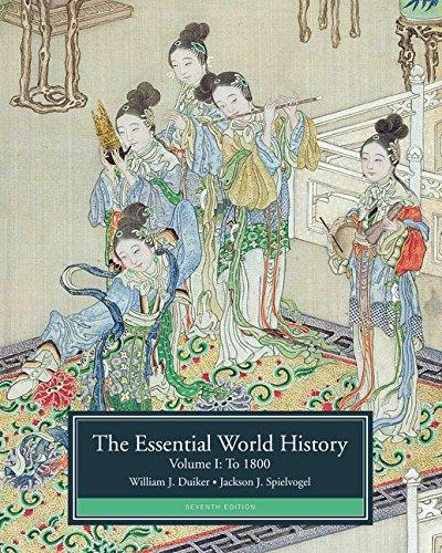 Essential World History:V.I To 1800