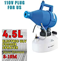 Kerrogee 4.5L Portable Electric ULV Sprayer,Ultra-Low Capacity Fogger Mosquito Killer for Home,Garden,Yard (4.5L)