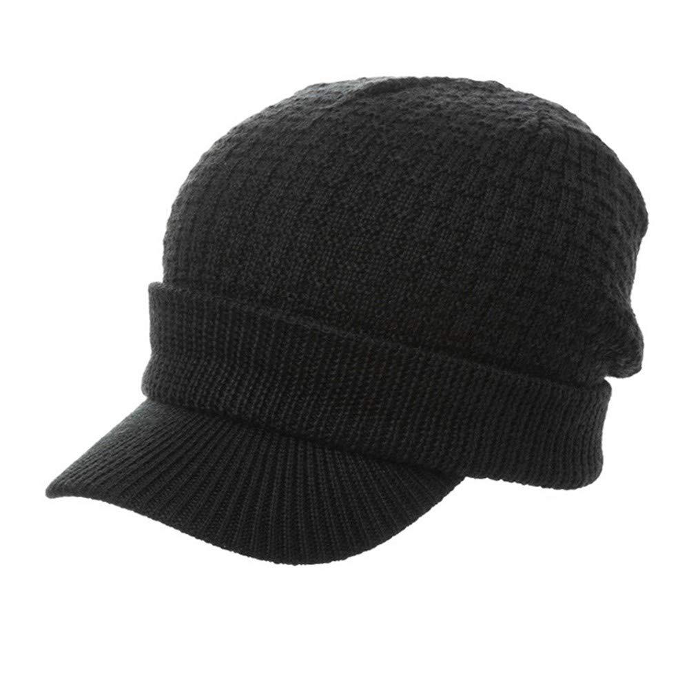 NZDHER Bonnets Homme Capuchon pour Hommes avec Capuchon De Protection Chauffant