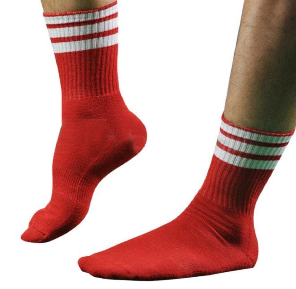 Men's Colorful Sport Football Soccer Short Socks, SUPPION Baseball Hockey Sock