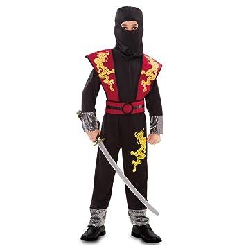 Fyasa 706195-t03 dragón ninja disfraz, tamaño mediano ...
