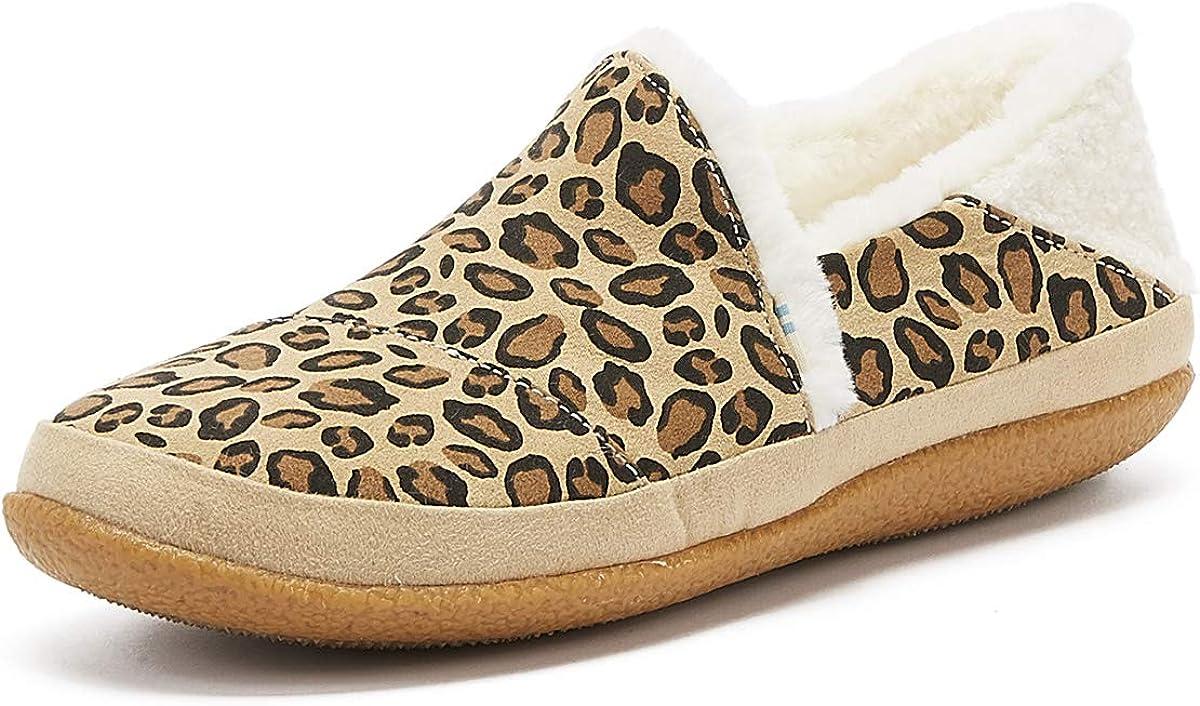TOMS India Womens Leopard Print