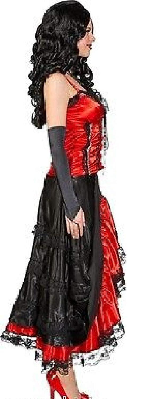 Narrenkiste O9199-42 Damen rot-schwarz Damen O9199-42 Saloonlady Cowgirlkostüm Gr.42 84f7b9