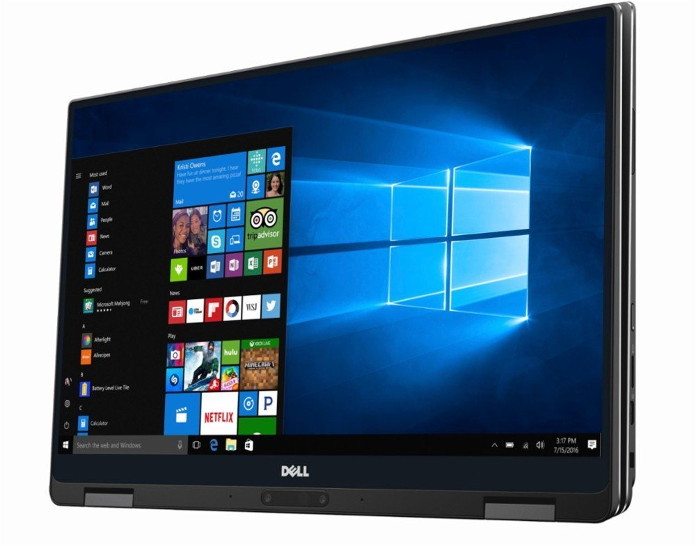 "2018 Flagship Dell XPS 13.3"" Full HD Touchscreen 2-in-1 Laptop, Intel Core i7-7Y75 up to 3.6GHz 8GB RAM 256GB SSD 802.11ac USB-C 3.1 Thunderbolt 15hr Battery Life Backlit Keyboard MaxxAudio Pro Win 10 by Dell (Image #7)"