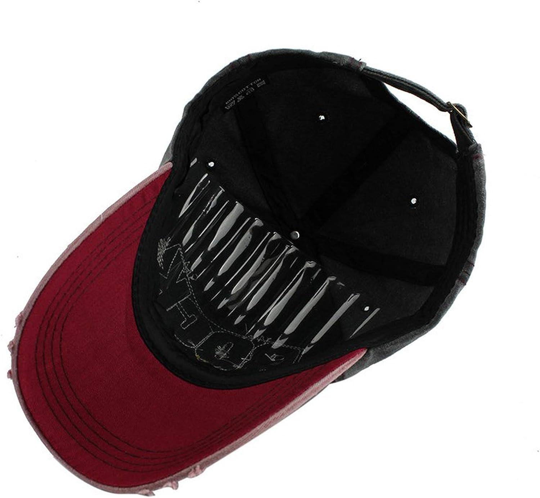 Letter Rock Embroidery Cotton Baseball Cap for Men Women Outdoor Sport Sun Hat