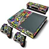 Mod Freakz Console and Controller Vinyl Skin Set - Bombing Graphics for Xbox One