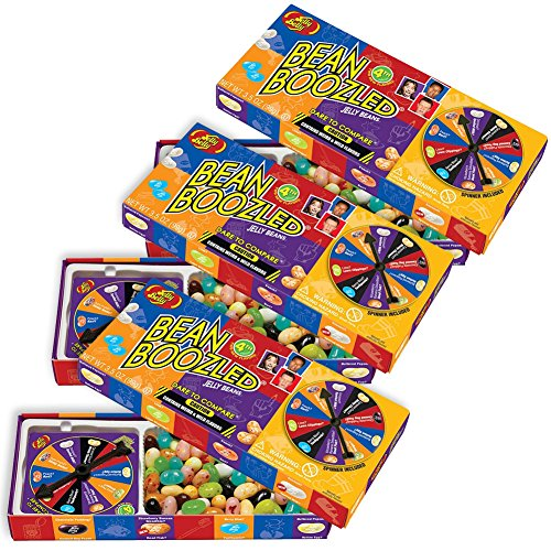 (Set of 3) Jelly Belly Bean Boozled Weird Flavored Jelly Beans Gift Boxes