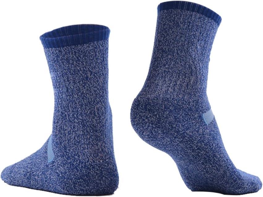 MEIKAN Calcetines de Senderismo Coolmax Trekking de Lana Merino para Hombres y Mujeres Calcetines de Rendimiento para entusiastas de los Deportes al Aire Libre