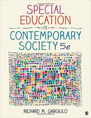 Special Education in Contemporary Society: An Introduction to Exceptionality 5th edition by Gargiulo, Richard M. (2014) Paperback