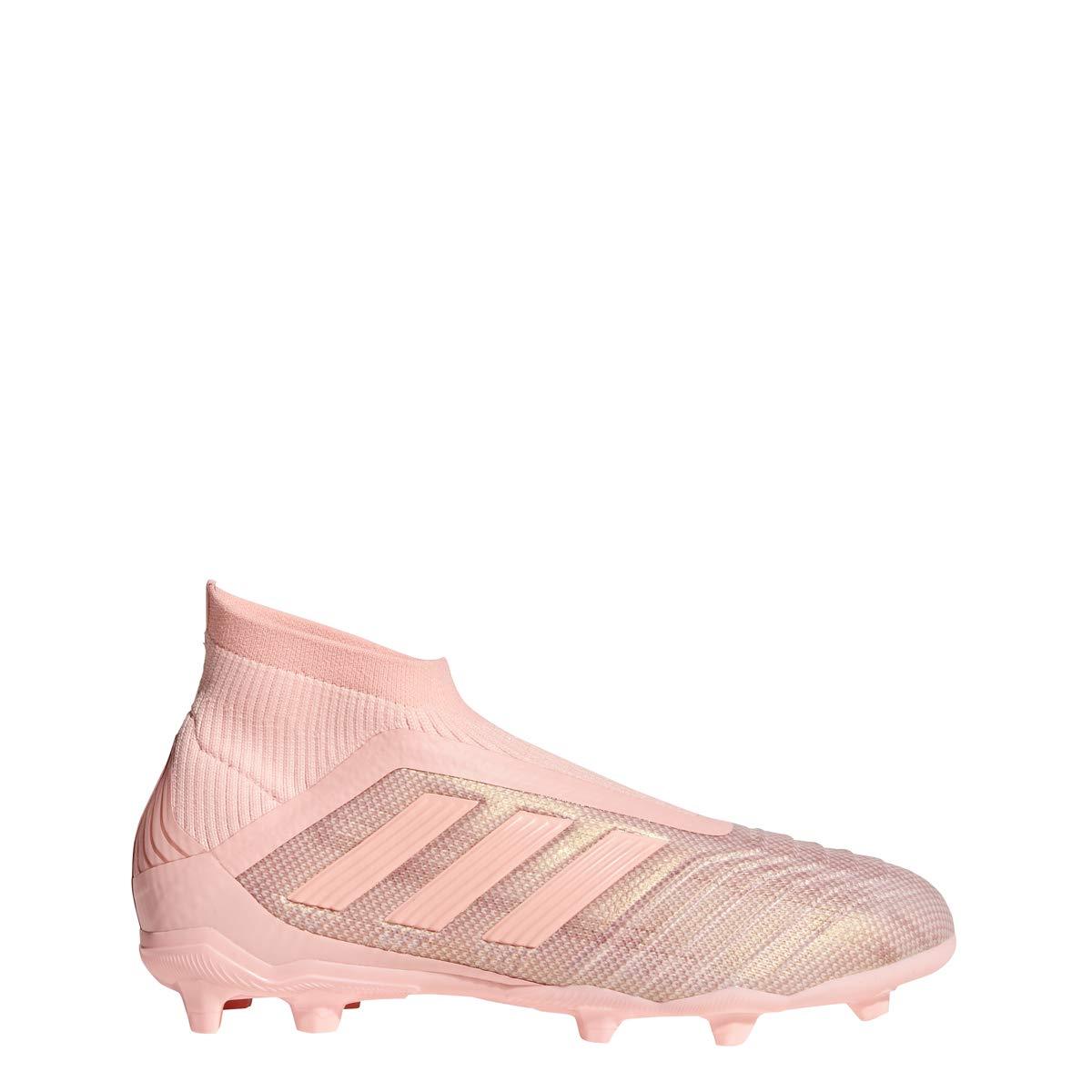 adidas Junior Predator 18+ FG (Clear Orange/Trace Pink) (5.5Y)